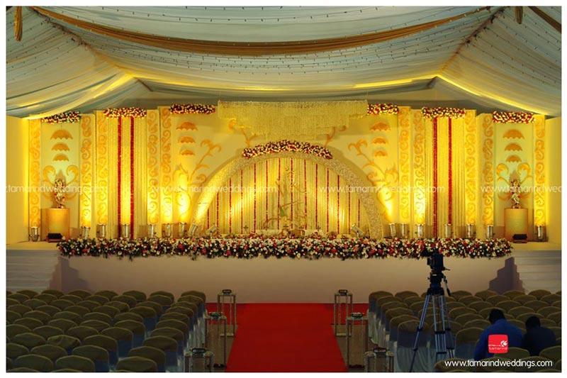Kerala Hindu Wedding Hall Decoration