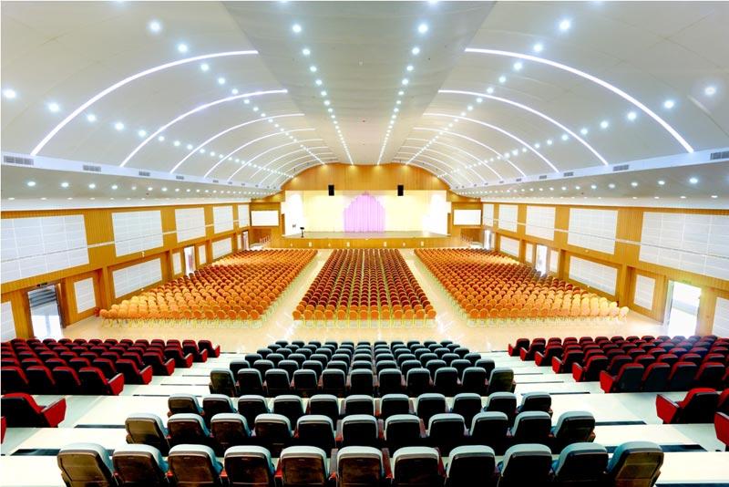Convention centre hall
